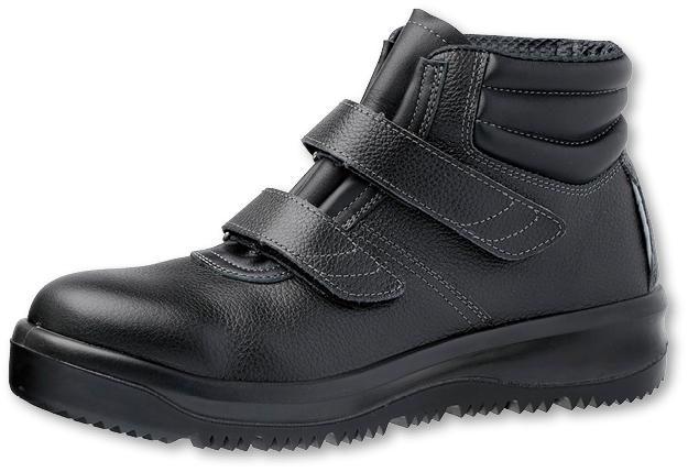 WT-710-11 寒冷地用耐滑安全靴ハイカット28.0cm 安全靴 防寒 売り込み 黒 革 革靴 安全 靴 マジックテープ シューズ ハイカット くつ 工事現場 安全用品 安全用具 寒冷地 寒冷地仕様 メンズ グッズ スリップ防止 雪対策 事故防止 安全対策 安い 工事