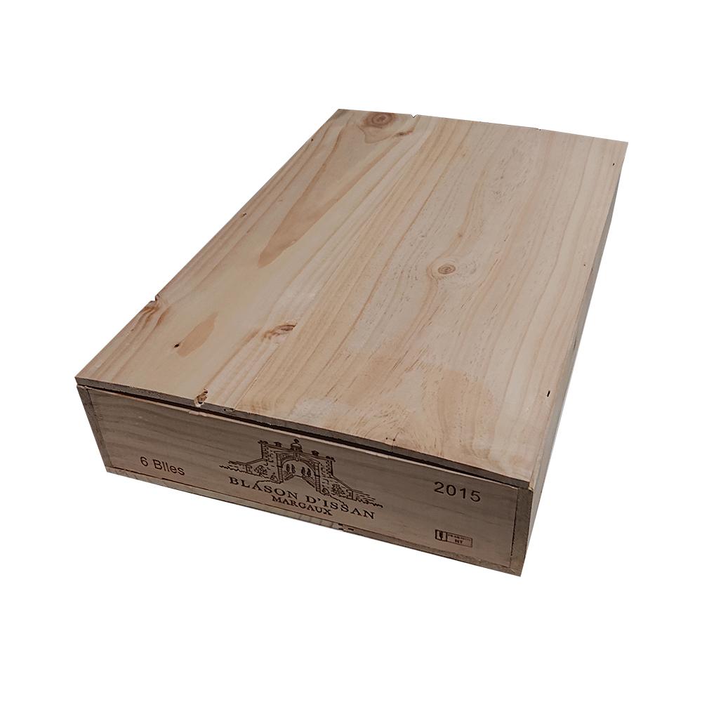 ついに再販開始 送料無料 贈答 インテリアや本棚などに ワイン6本用木箱 敬老の日 ワインと同梱可能