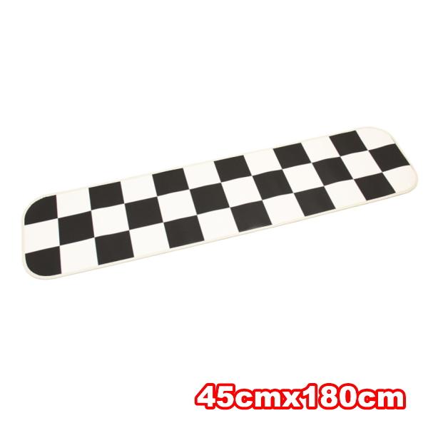 カーペット クッションフロア製 東リ オーダーサイズ幅〜180cmまでX長さ301〜330cmまで 白黒市松模様