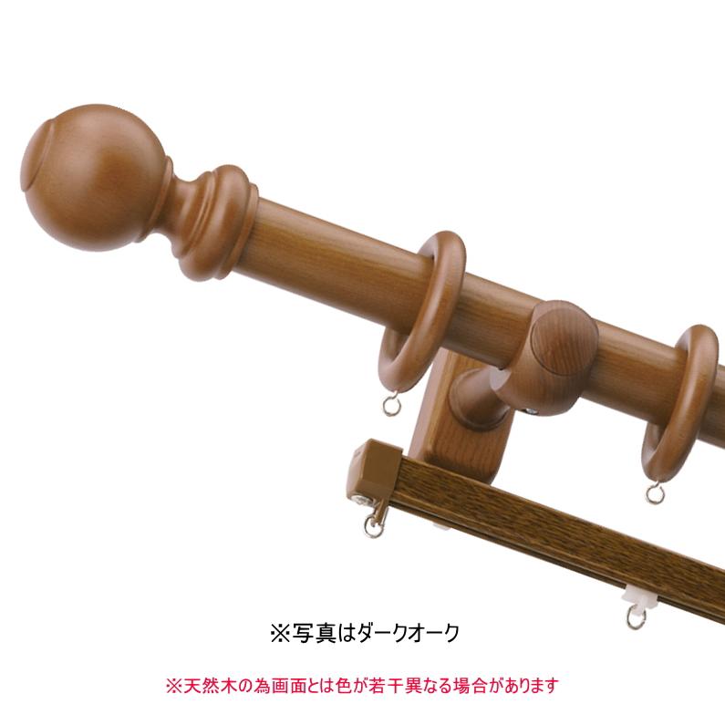 カーテンレール ダブル TOSO ラグレス33 3.1m エリートダブルBセット