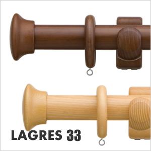 カーテンレール シングル TOSO ラグレス33 3.1m シングルHセット