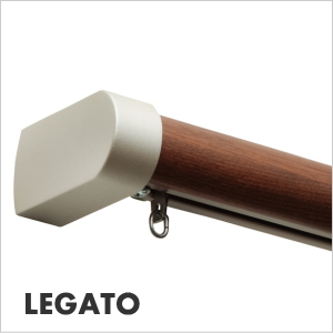 カーテンレール シングル TOSO レガート 3m シングルメタルMセット