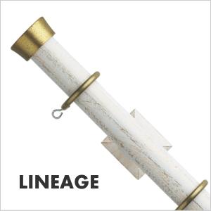 カーテンレール シングル TOSO リネージュ 2.1m シングルCセット(アンティークゴールド)