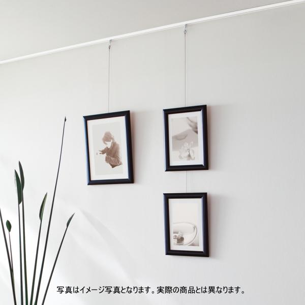 カーテンレール TOSO ピクチャーレール T-1 4m(天井付) レールセット(ホワイト)(受注製作商品)