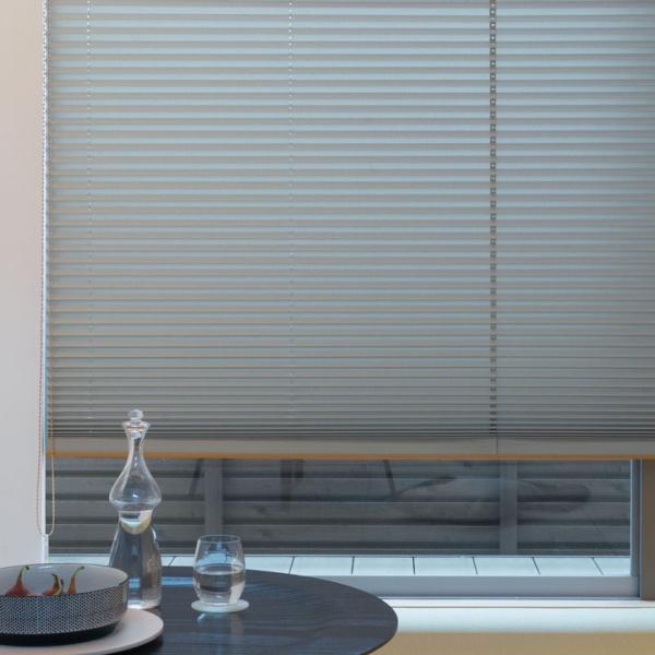 プリーツスクリーン もなみ 25mm ニチベイ レクレ 遮光 M8150~M8154 シングルスタイル(スマートコード式) 幅160.5~200cm×高さ181~220cmまで