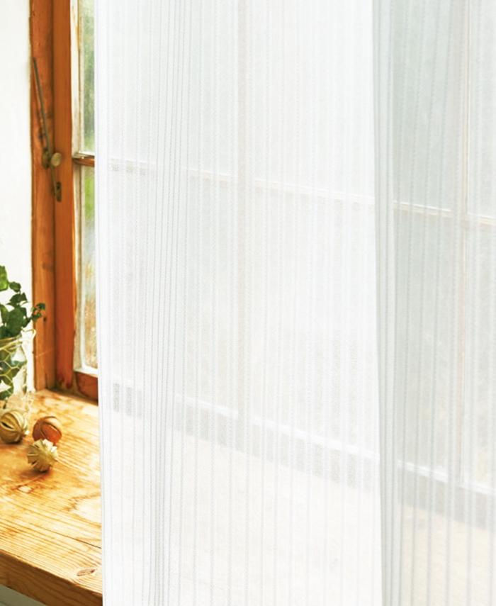 YESオーダーカーテン YESカーテン 注目ブランド レースカーテン R0175 ウッシャブル 防炎 遮熱 約1.5倍ヒダ UVカット 幅101~200cmX丈181~210cmまで おすすめ特集 二ツ山縫製 ミラー
