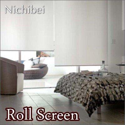ロールスクリーン オーダー ニチベイ ソフィ 防炎 シャロル N7009~N7011 幅31~50cmX高さ81~120cm