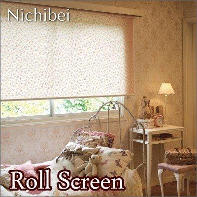 ロールスクリーン オーダー ニチベイ ソフィ 防炎 シャルロット N7192 幅31~50cmX高さ10~49cm
