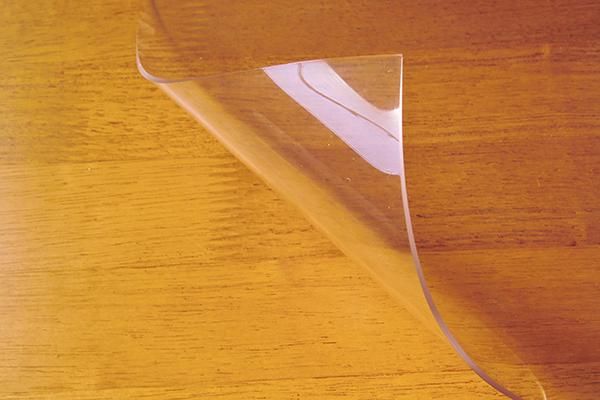 桌墊紙不能照相 ! 孩子們學習桌子學習辦公桌辦公室桌子雙面非轉機服務台墊明確類型 600 × 900 毫米 2 毫米厚的透明桌墊透明墊表