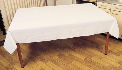 シンプルな無地のテーブルクロスです 4色の中からお好きな色を選べます 綿無地 オフホワイト ダークピンク イエロー ブルー テーブルクロス 高級な 4尺用 ビニールカバー付 綿100% 受注生産 テーブルカバー 弱はっ水加工 120cm×150cm 日本製 好評受付中
