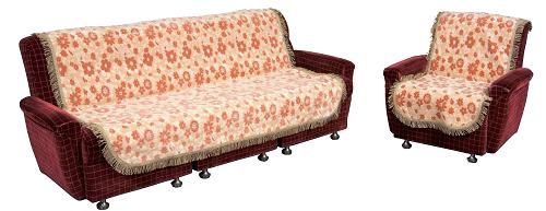 椅子を華やかにみせ 汚れも防止するリビングセットカバー リビングセットカバー ムーラン ベージュ グリーン 3人掛用肘ナシ LZ32-3 お気にいる こちらの商品は受注生産です 送料無料 LZ30-3 カバーベルト付 期間限定特別価格 イスカバー