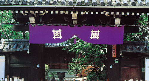 神社幕 色:紫 高さ90センチ パールトーン加工(撥水・防汚性能)可能!1メートル/5000円~(+税)【送料無料!】