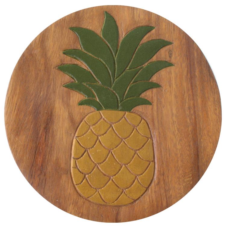Interieur Deco Tree Handicraft Display Stand Chair Fruit Round Impressive Pineapple Tree Display Stand