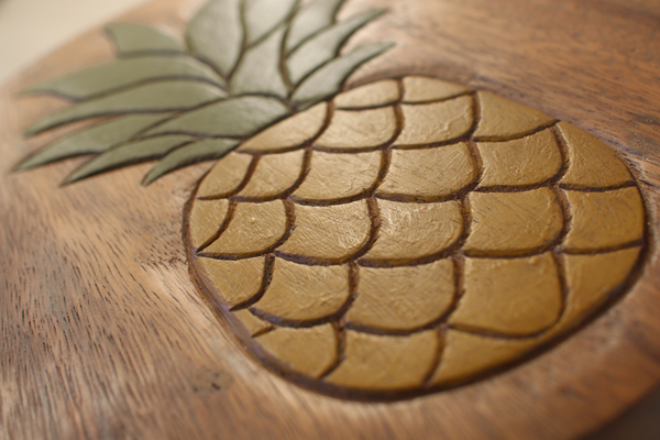 Interieur Deco Tree Handicraft Display Stand Chair Fruit Round Cool Pineapple Tree Display Stand