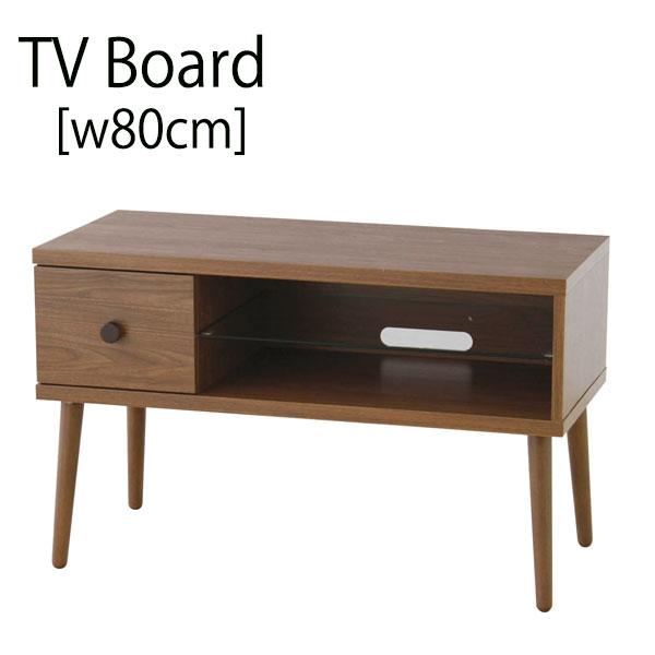 テレビ台 ローボード おしゃれ 北欧 幅80cm 小さめ ヴィンテージテイスト 送料無料 テレビラック コンパクト シンプル