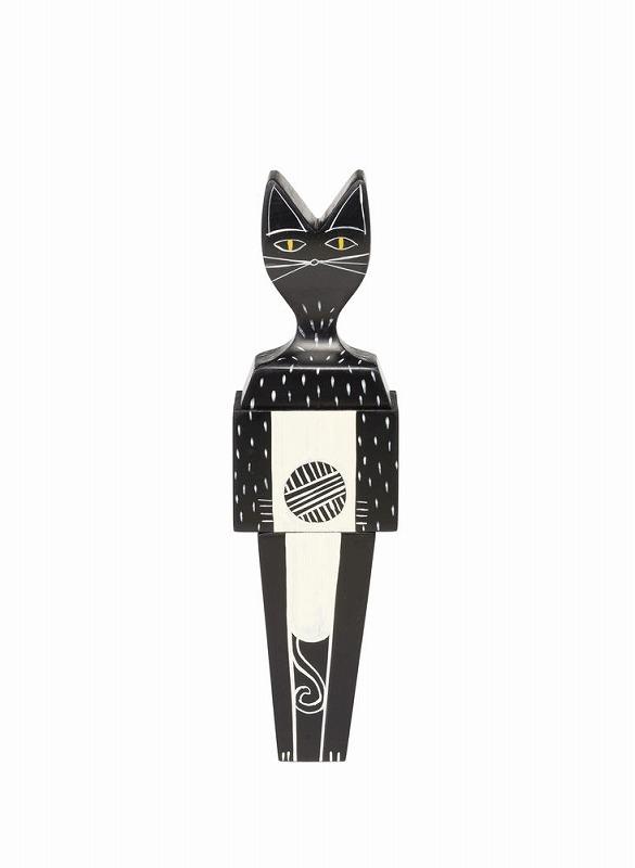 【正規品】 Wooden Dolls cat ウッデンドール キャット 215 086 01 W4.8cm D3.6cm H17.1cm 木箱入り ミッドセンチュリー ハンドクラフト 無垢材 Alexander Girard アレキサンダー ジラルド 1963 vitra ヴィトラ