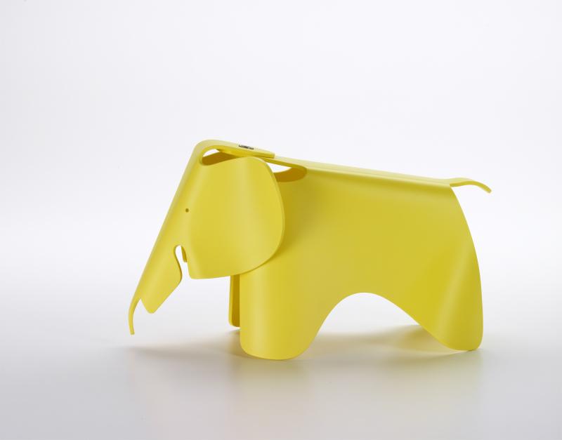 【正規品】 Eames Elephant (small) buttercup / イームズ エレファント (スモール) バターカップ [215 112 09] W17.5cm D39cm H21cm