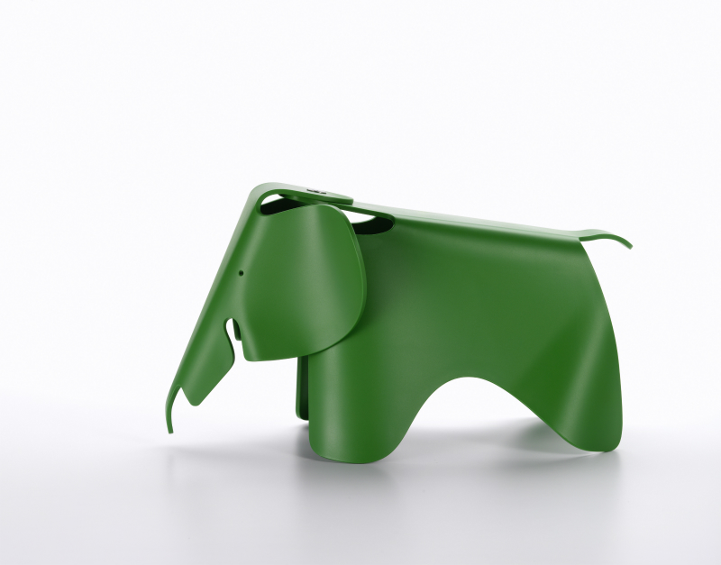 【正規品】 Eames Elephant (small) palm green / イームズ エレファント (スモール) パームグリーン [215 112 07] W17.5cm D39cm H21cm
