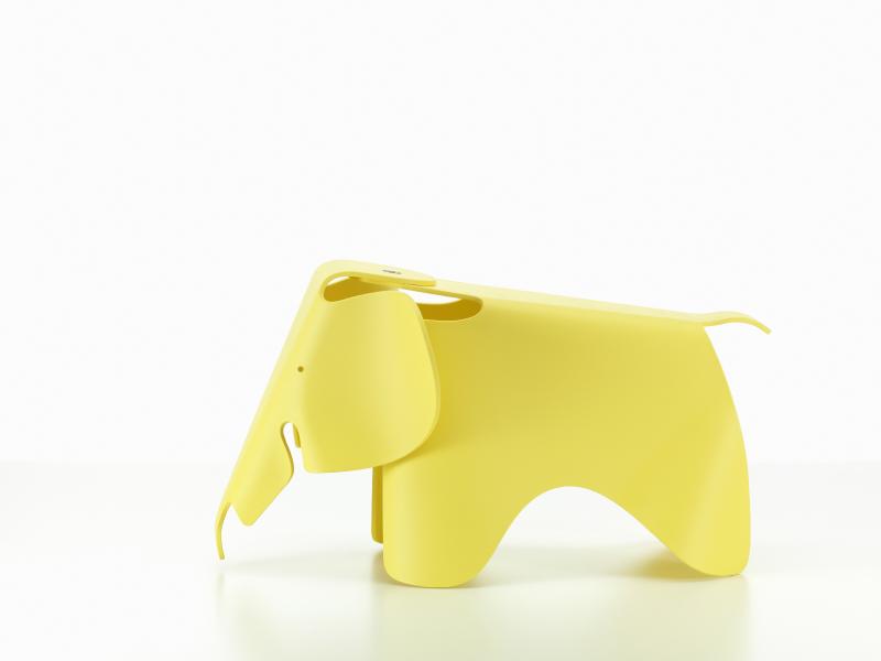 【正規品】 Eames Elephant buttercup / イームズ エレファント バターカップ [215 029 09] W41cm D78.5cm H41.5cm