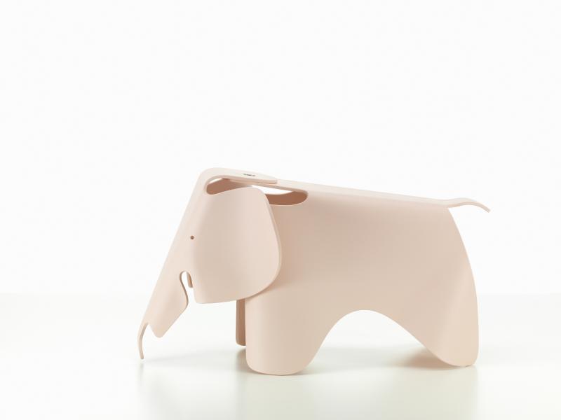 【正規品】 Eames Elephant pale rose / イームズ エレファント ペールローズ [215 029 10] W41cm D78.5cm H41.5cm