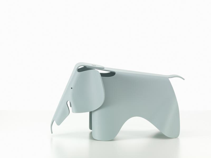 【正規品】 Eames Elephant ice grey / イームズ エレファント アイスグレー [215 029 02] W41cm D78.5cm H41.5cm