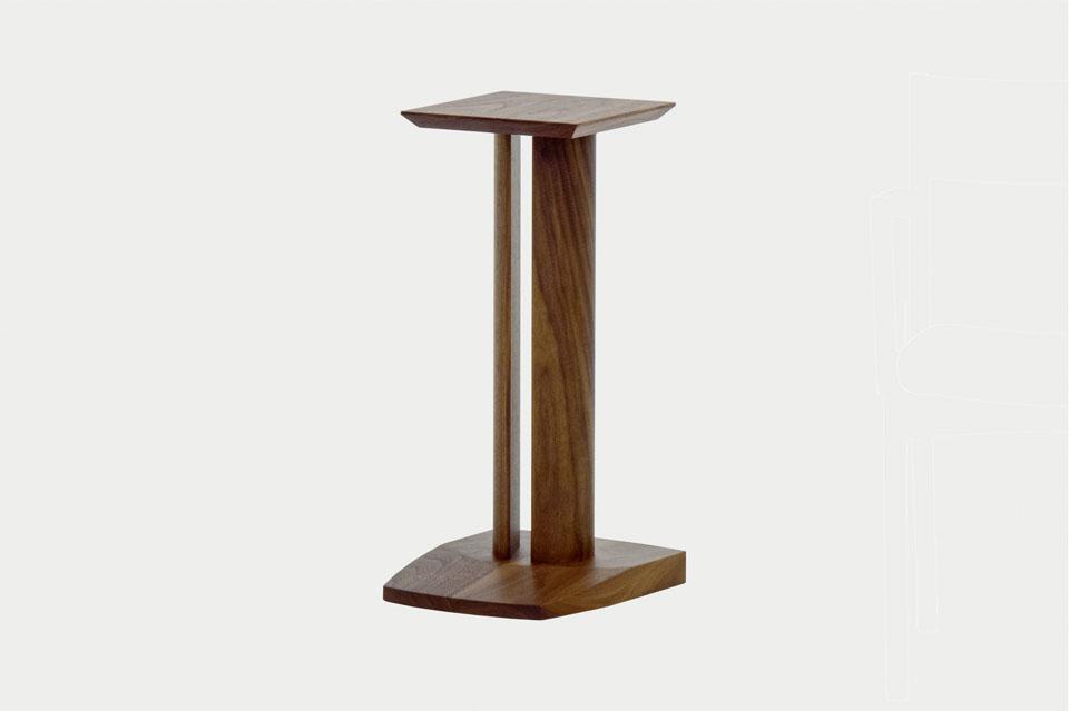 Wood apeaker (RA101-SP) / ウッドスピーカー スタンド NAGANO INTERIOR / ナガノインテリア W28 D33 H60 cm