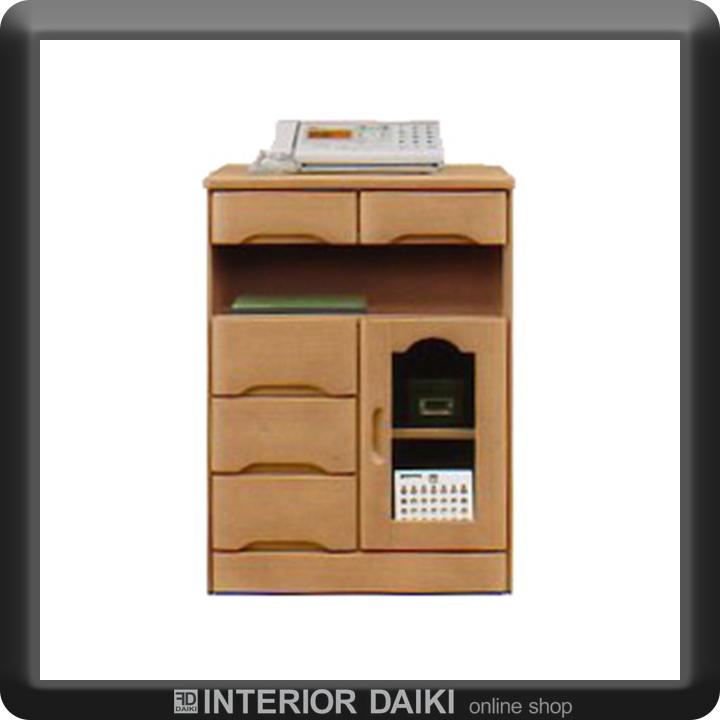 電話台 TEL台 幅60 FAX台 ファックス台 チェスト コンパクト 完成品 送料無料 おしゃれ かわいい