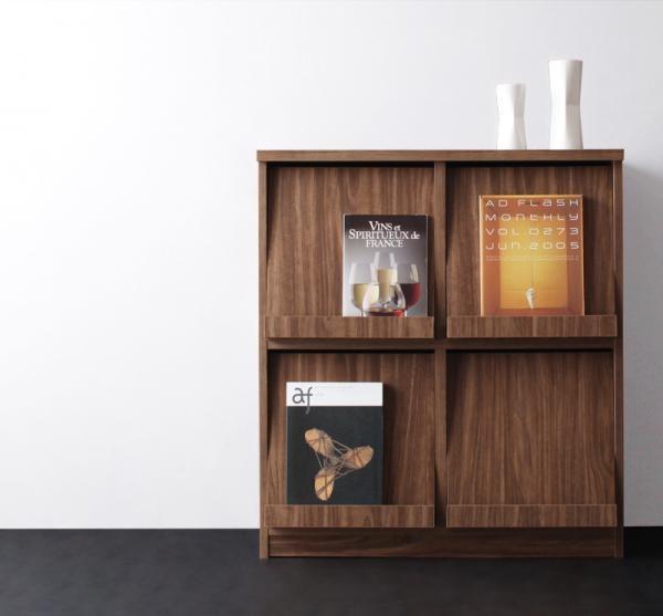 本棚 書棚 収納棚 チェスト 間仕切り 幅80cm 組立品 家具通販 木製 モダン 送料無料 おしゃれ かわいい
