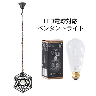 ライト ペンダントライト 電球 電気 照明 照明器具 1灯 おしゃれ 天井 アルミ スチール シンプル 電球付き LED電球対応可能 送料無料 北欧 クライン / LHT-722