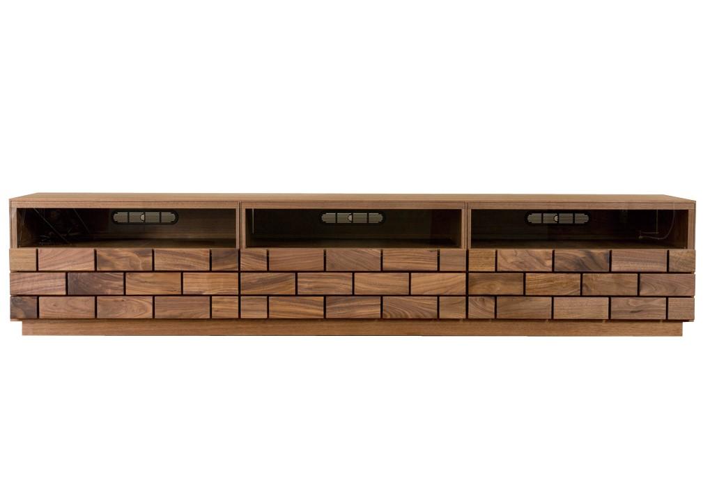 年中無休 年末年始大決算 テレビボード 180 185 190 テレビ台 ローボード TV台 ガラス 天然木 ブロック 角材 無垢 ウォールナット