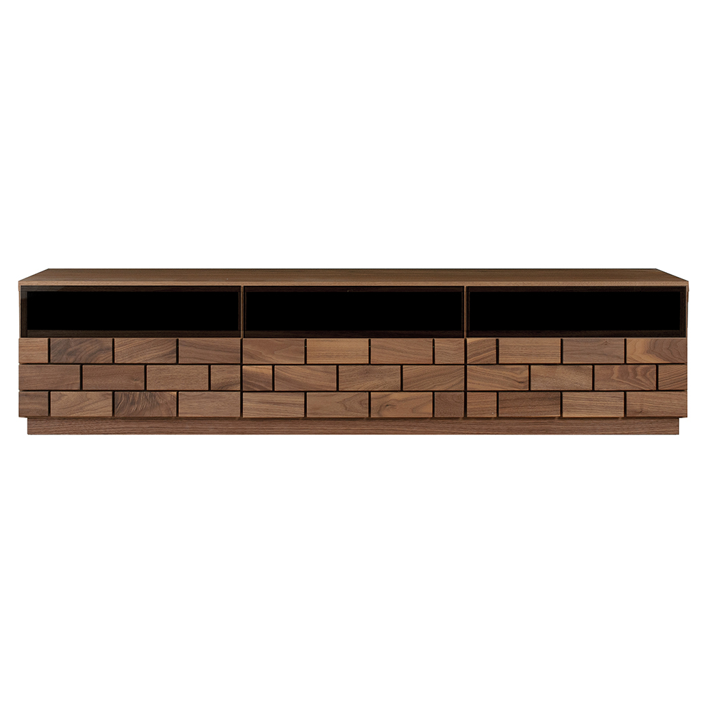 テレビボード 160 テレビ台 ローボード TV台 無垢 角材 ウォールナット 幅160 ブロック 安い 激安 プチプラ 高品質 天然木 実物