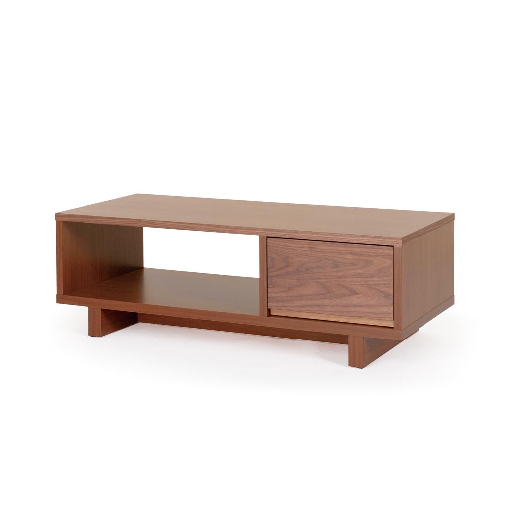 リビングテーブル センターテーブル ローテーブル オープンラック 日本最大級の品揃え 営業 幅100 無垢 日本製家具 W1000 ウォールナット
