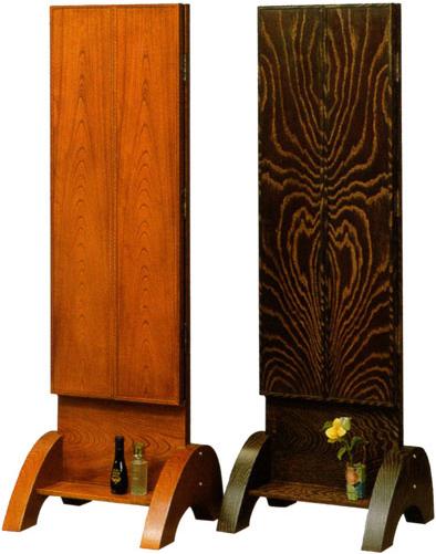 【開梱設置無料】 和風 姿見 スタンドミラー 三面鏡 全身鏡 木製 全身ミラー おしゃれ 高級 日本製 国産 送料無料 通販 MK2847 【kam】