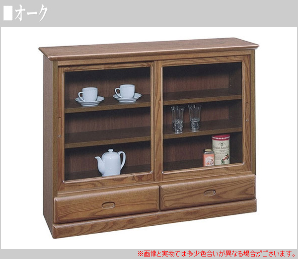 Living Board Cupboard Sliding Door Cupboard Decoration Sideboard Cabinet  Glass Shelf Cabinet 90 Moody Made In Japan Japanese Mail Order SALE