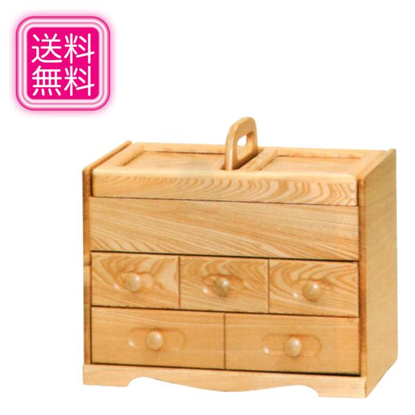ソーイングボックス 木製 裁縫箱 おしゃれ ソーイングBOX 和風 針箱 かわいい 裁縫用具入れ 日本製 裁縫道具入れ 国産 裁縫道具収納 裁縫道具入れ 敬老の日 母の日 送料無料 通販 MK5112 【kam】
