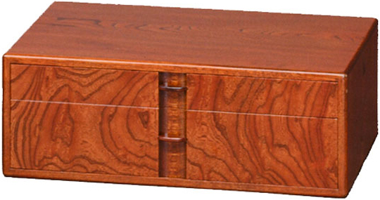 書類ケース A4サイズ対応 小引き出し 書類収納 木製 書類入れ 和風 ミニチェスト 2段 高級 国産 日本製 送料無料 通販 T-22 【kam】
