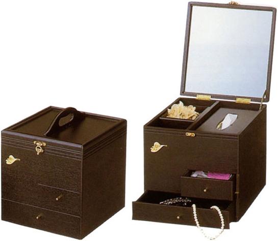 メイクボックス 鏡付き コスメボックス 持ち運び 驚きの値段で メイクBOX 木製 コスメBOX 選択 おしゃれ メーキャップミラー 化粧品 日本製 母の日 通販 送料無料 収納 化粧箱 国産 kam 敬老の日 YK17