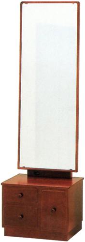 座鏡 一面鏡 鏡台 ドレッサー 和風 メイク台 コンパクト 化粧台 木製 日本製 国産 送料無料 通販 MK5883 【kam】
