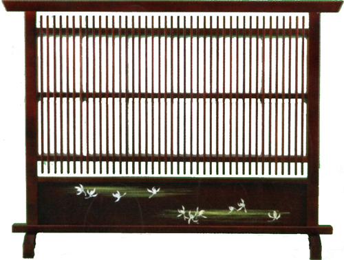 衝立 和風 ついたて 間仕切り パーテーション パーティション スクリーン 日本製 国産 MK2389 和風 和家具 送料無料通販 セール SALE 【kam】