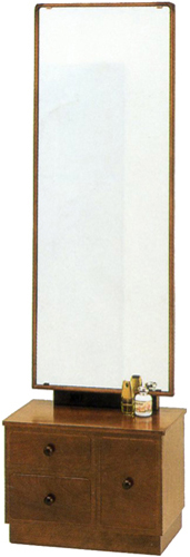 座鏡 一面鏡 鏡台 ドレッサー 和風 メイク台 コンパクト 化粧台 木製 国産 日本製 送料無料 通販 MK5884 【kam】