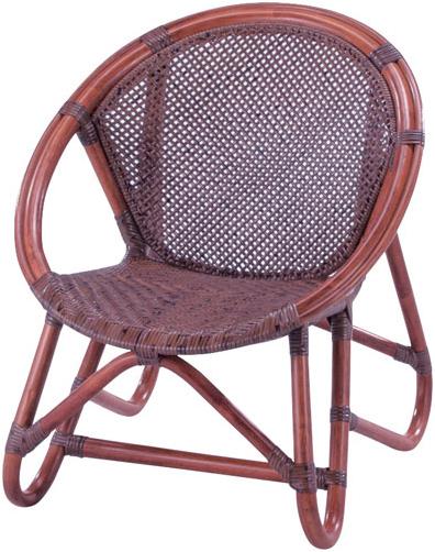 子供椅子 ラタン 子供いす 籐 子供イス おしゃれ アームチェアー ロータイプ ベビーチェアー 木製 アジアン 出産祝い 送料無料 通販 B-56D 【ire】