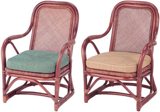 アームチェア 籐 アームチェアー ラタン 椅子 肘付き アジアン パーソナルチェアー 送料無料 通販 A-55D 【ire】