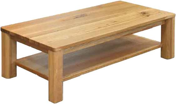 リビングテーブル 木製 センターテーブル 無垢材 ローテーブル 幅120cm 北欧 カントリー D-oak CテーブルB 起立木工 送料無料 通販 【kir】【smtb-F】
