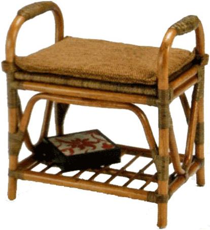補助スツール ラタン 補助椅子 籐 補助チェアー 玄関椅子 サポートチェアー エントランスチェアー 軽量 アジアン 敬老の日 送料無料 通販 【kaz】