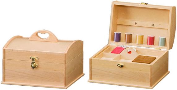 ソーイングボックス 木製 裁縫箱 北欧 針箱 和風 ソーイングBOX ナチュラル 裁縫用具入れ 裁縫道具入れ 母の日 敬老の日 送料無料 通販 カモミール H4366 【ken】