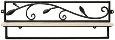タオル掛け おしゃれ ウォールタオルハンガー アイアン タオルラック おしゃれ 壁掛けハンガー フック 北欧 ブラック 黒 アルテジャパン 送料無料 通販 NA-237 【art】【smtb-F】