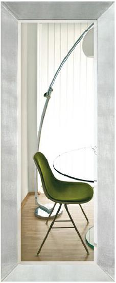 ウォールミラー 大型鏡 壁掛けミラー 全身鏡 モダン 大型ミラー 壁掛け鏡 全身ミラー 北欧 シルバー 高級 アルテジャパン 送料無料 通販 MI-5074 【art】【smtb-F】