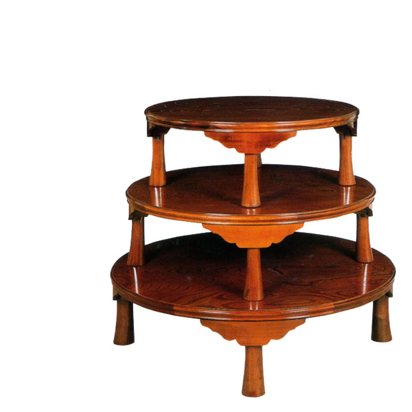 和風 座卓 折りたたみ式 ローテーブル 幅90cm ちゃぶ台 円卓 丸テーブル 木製 欅 高級 日本製 国産 送料無料 通販 【iwa】