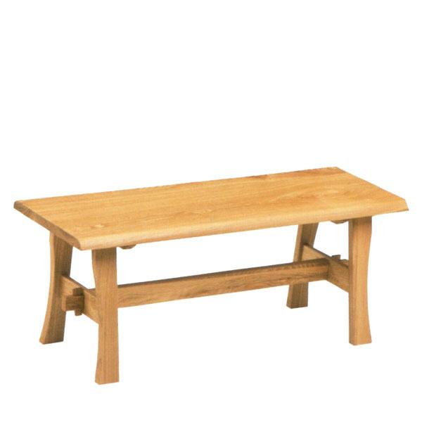 ダイニングベンチ 無垢 リビングベンチ 木製 ベンチ 幅120cm 北欧 カントリー ナチュラル MTH モリモク 送料無料 通販 【mom】