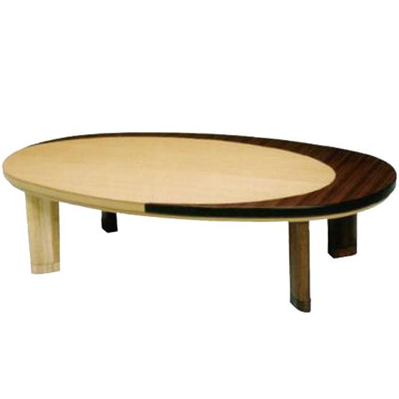 コタツテーブル 円形 こたつテーブル 幅150cm 家具調コタツ 丸型 家具調こたつ ウォールナット 暖卓 北欧 ローテーブル 木製 送料無料 通販 エンゼル 【san】